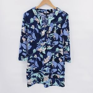 BCBG MaxAzria 3/4 Sleeve Shift Dress